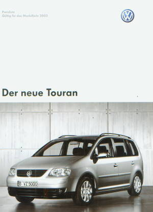 vw touran preisliste 2003 8851 histoquariat. Black Bedroom Furniture Sets. Home Design Ideas