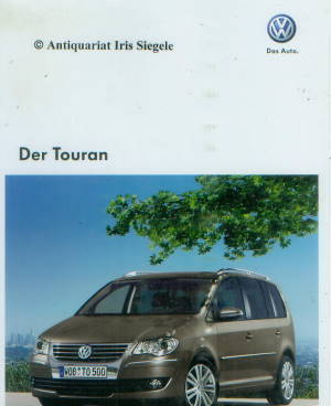 vw touran prospekt aus 2009 10135 histoquariat. Black Bedroom Furniture Sets. Home Design Ideas