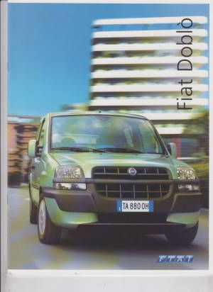 fiat doblo 2004 prospekt histoquariat. Black Bedroom Furniture Sets. Home Design Ideas