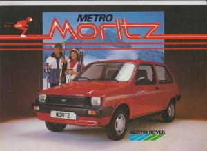 Austin Metro Moritz Prospekt 1984 Italien - Histoquariat