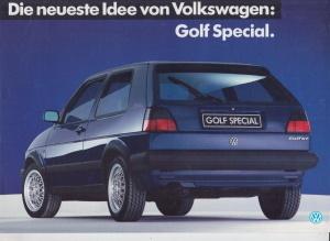 vw golf gt special prospekt 1987 histoquariat f r. Black Bedroom Furniture Sets. Home Design Ideas