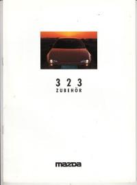 autoprospekt zubehörkatalog mazda 323 1995 - histoquariat