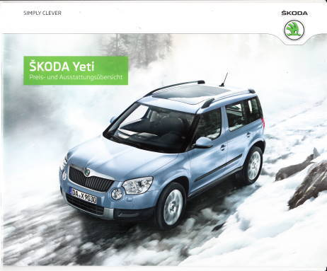 skoda yeti preisliste 2014 pdf. Black Bedroom Furniture Sets. Home Design Ideas